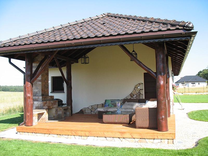 Pomysł na letnią kuchnię w ogrodzie  Pro Planta Brodnica -> Kuchnia Letnia Maja W Ogrodzie