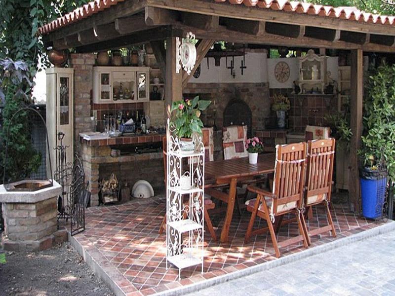 Pomysł Na Letnią Kuchnię W Ogrodzie Pro Planta Brodnica